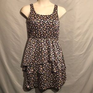 The limited silky soft layered floral dress size 8